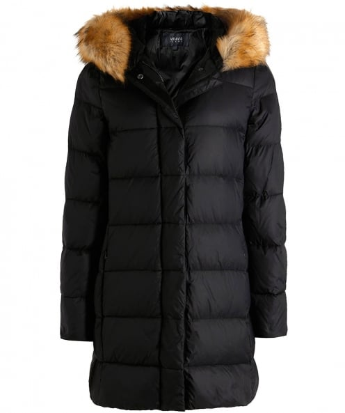 Armani Jeans Padded Down Duvet Jacket