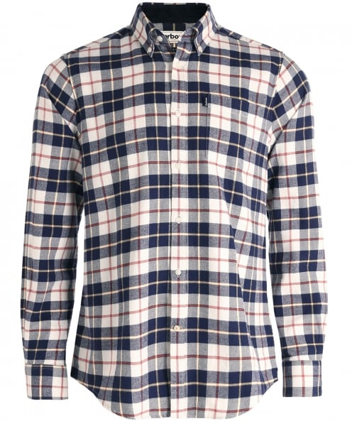Barbour Tailored Fit Stapleton Blake Check Shirt