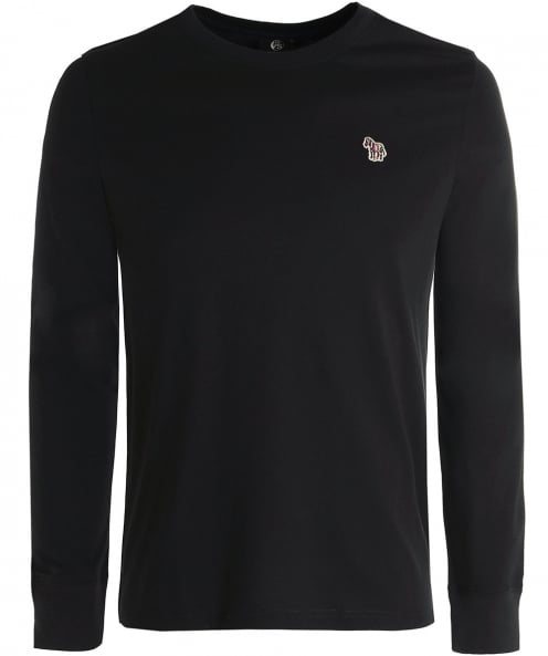 PS by Paul Smith Long Sleeve Zebra T-Shirt