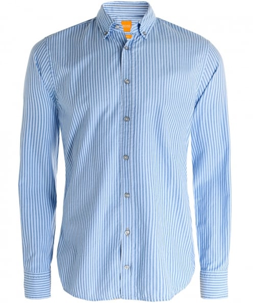 BOSS Slim Fit Epreppy Striped Shirt