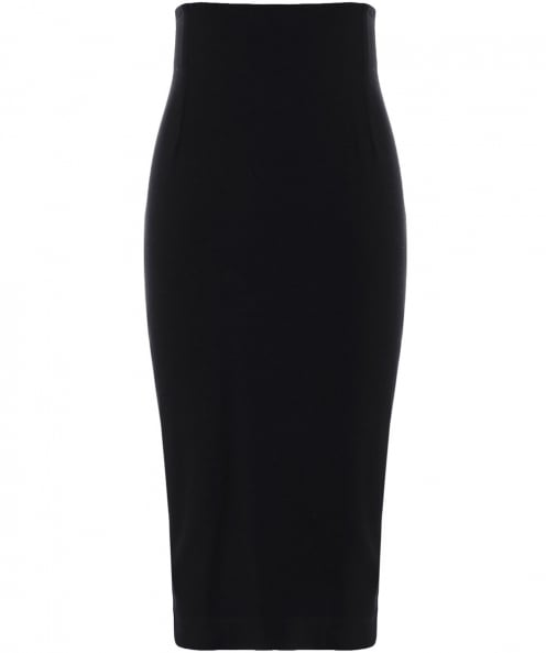 Isabel de Pedro Lace-Up Pencil Skirt