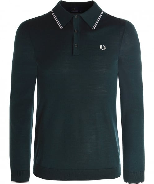 Fred Perry Merino Wool Polo Shirt