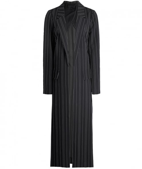 Kendall and Kylie Pinstripe Trench Coat