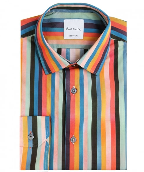 Paul Smith Tailored Fit Striped Shirt