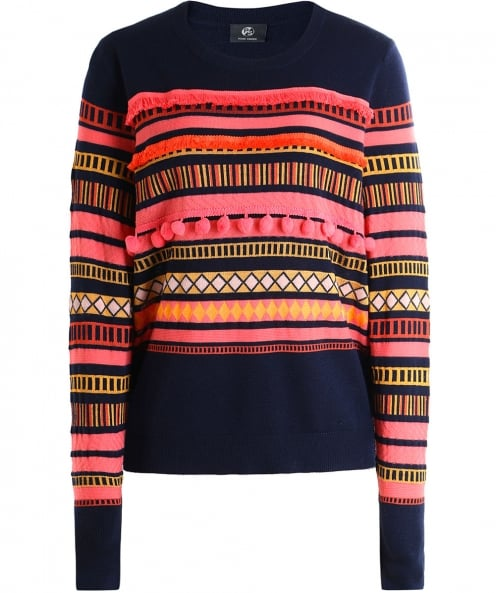 PS by Paul Smith Wool Pom Pom Jumper