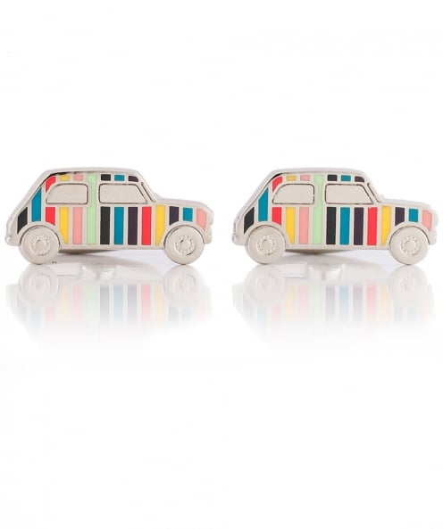Paul Smith Striped Car Cufflinks