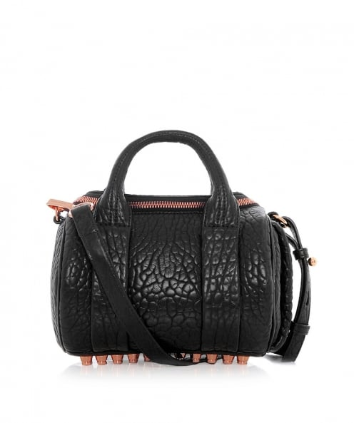 Alexander Wang Pebbled Leather Mini Rockie Bag