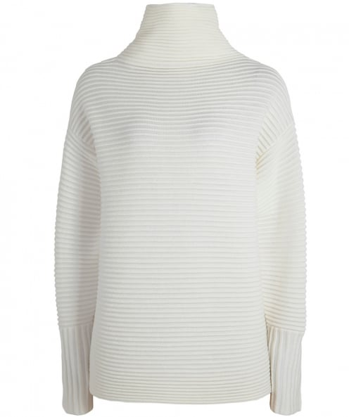 Victoria Victoria Beckham Wool Funnel Neck Sweater