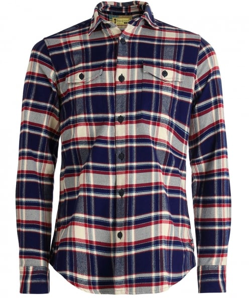 Barbour International Brushed Cotton Slater Check Shirt