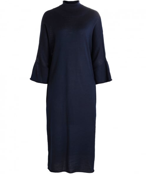 Crea Concept Wool Roll Neck Dress