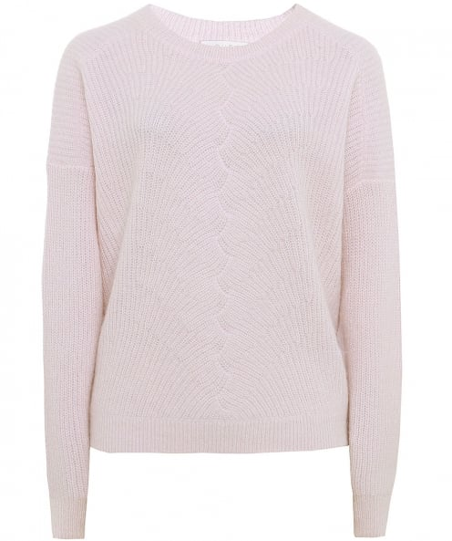 Duffy Cashmere Directional Knit Jumper