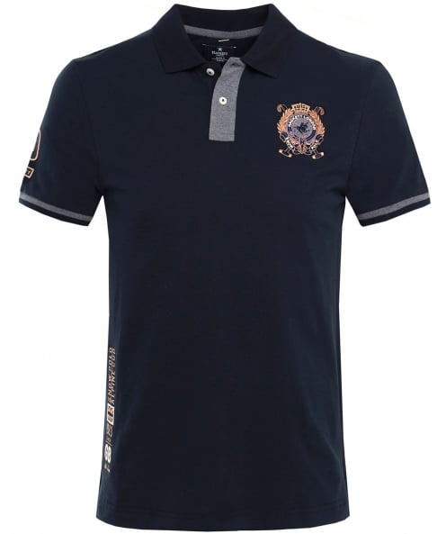 Hackett Classic Fit Snow Polo Shirt