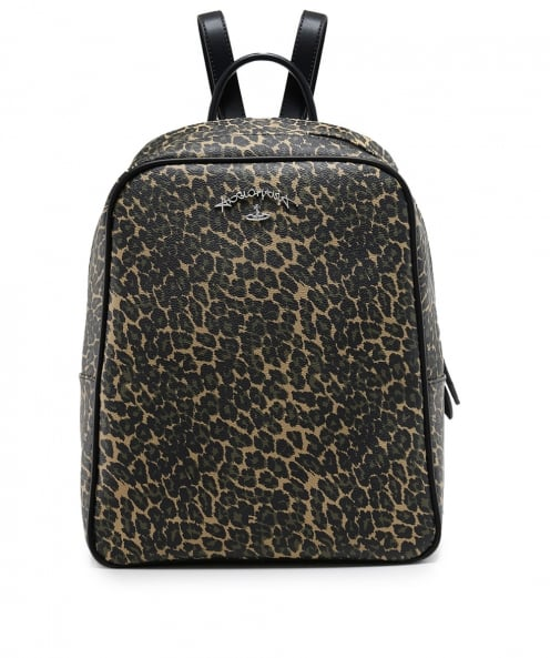 Vivienne Westwood Accessories Leopard Print Backpack