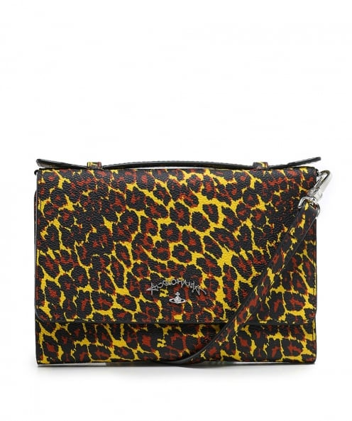 Vivienne Westwood Accessories Leopard Print iPhone Wallet