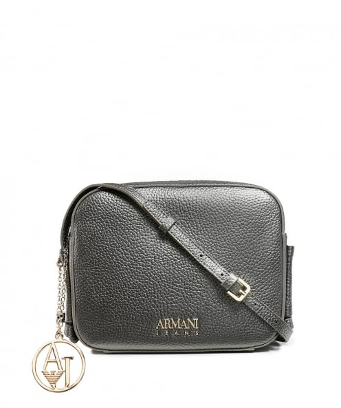 Armani Jeans Metallic Shoulder Bag