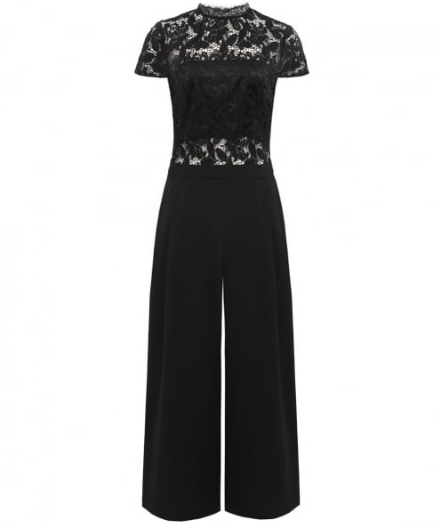 Alice and Olivia Elysia Lace Jumpsuit