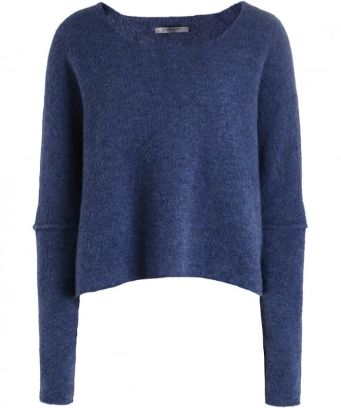 Crea Concept Wool Box Fit Cropped Jumper