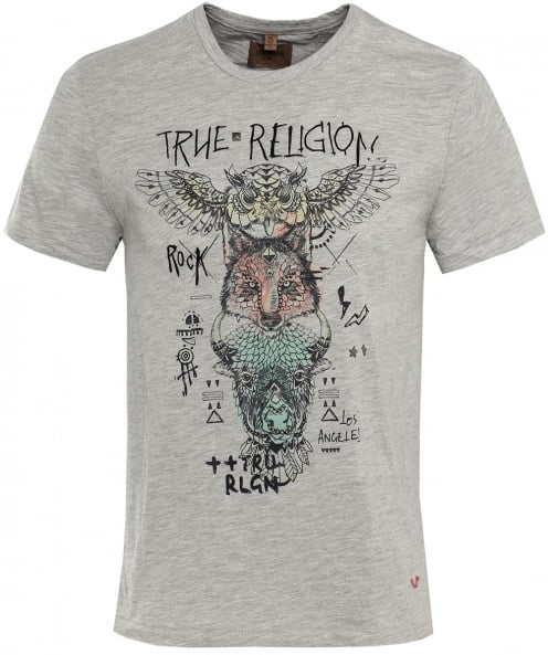 True Religion Indian Totem T-Shirt
