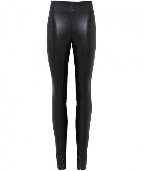 Velvet by Graham and Spencer Berdine Leather Effect Leggings