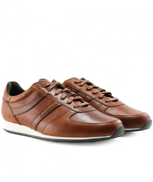 BOSS Orange Leather Orland_Runn_pp Trainers
