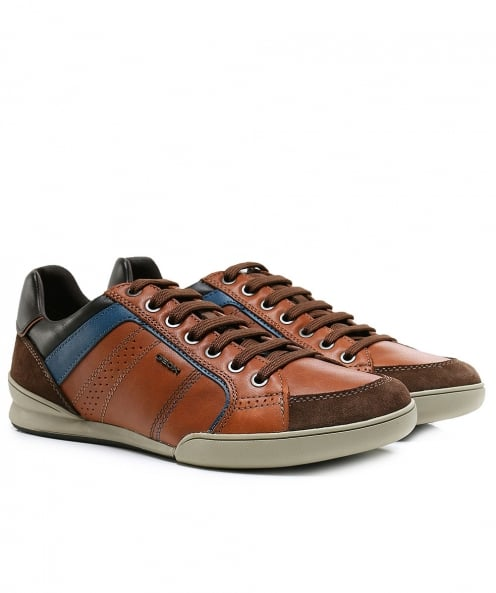Geox Nappa Leather & Suede Kristof Trainers