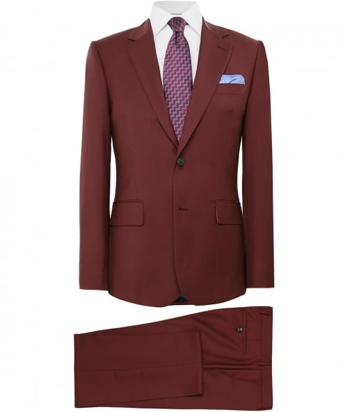 Paul Smith Tailored Fit Wool Blend Suit