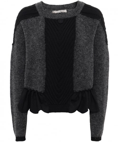 High Wool Bronte Cable Knit Jumper