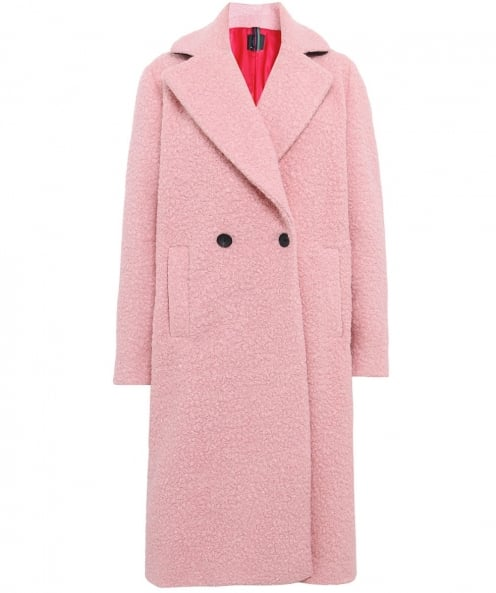 PS by Paul Smith Boucle Swirl Coat
