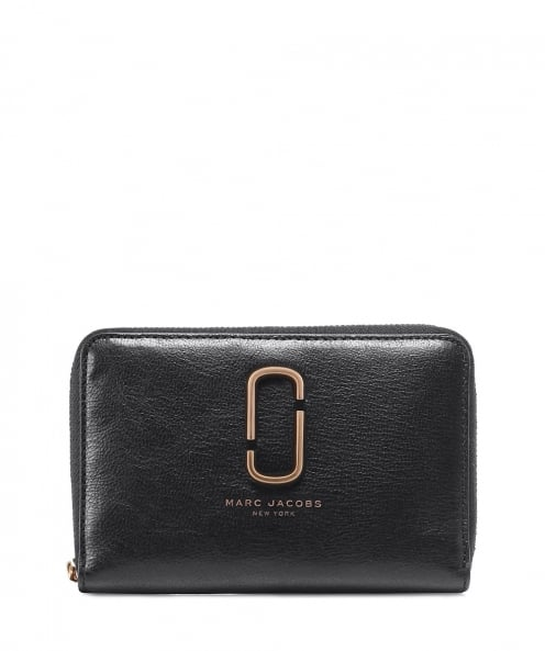 Marc Jacobs Small Leather Zip-Around Wallet