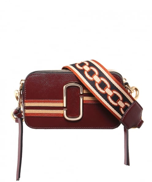 Marc Jacobs Contrast Stripe Snapshot Camera Bag