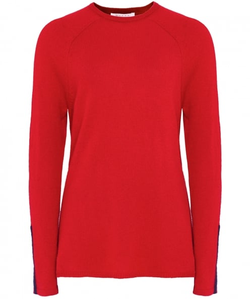 Duffy Side Loose Cashmere Jumper