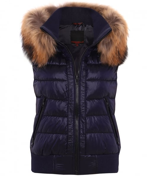 Froccella B-215 Quilted Down Gilet