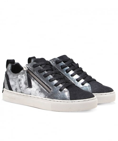 Crime London Java Low Top Trainers
