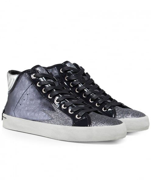 Crime London Faith High Top Trainers
