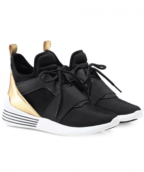 Kendall and Kylie Shoes Neoprene Braydin Trainers