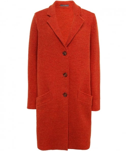 Backstage Wool Saphir Pocket Coat