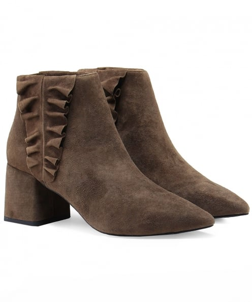 Senso Suede Sloan Frill Detail Boots