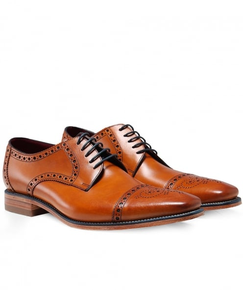 Loake Leather Foley Derby Shoes