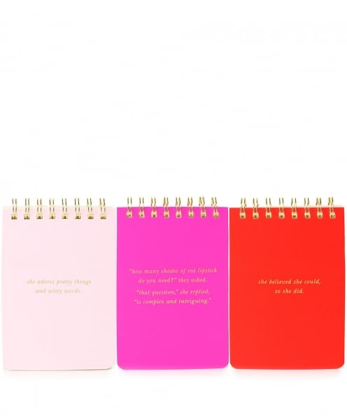 Kate Spade New York Spiral Notepad Set