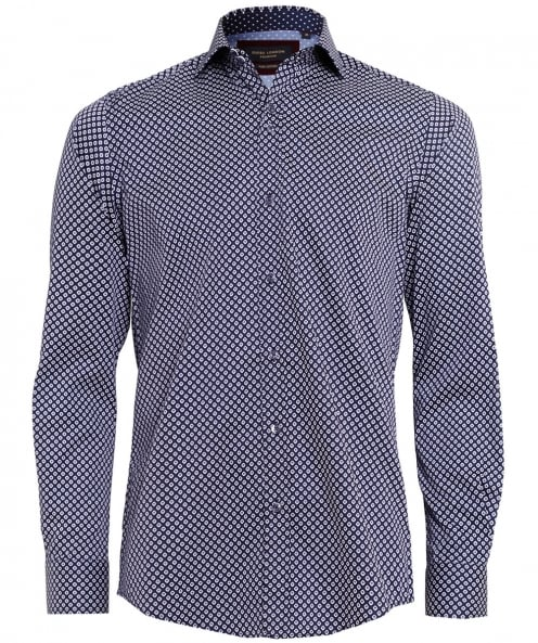 Guide London Patterned Artistic Shirt
