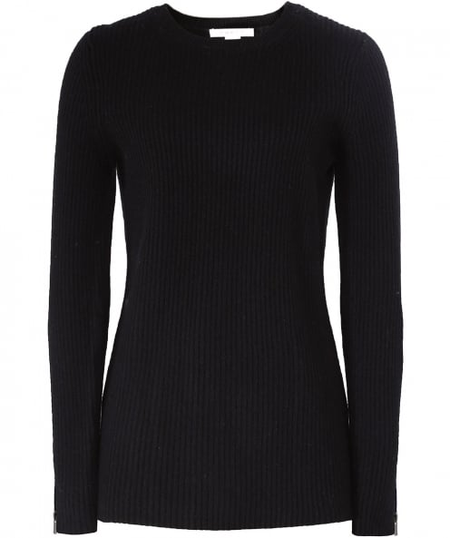 Duffy Cashmere Zip Jumper