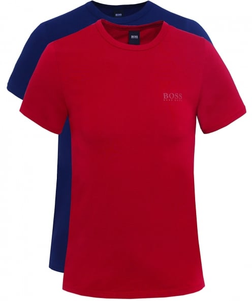 BOSS Two Pack of Slim Fit T-Shirts