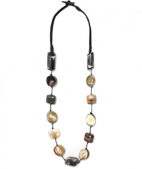 Nouv-Elle Pebble Stone Necklace