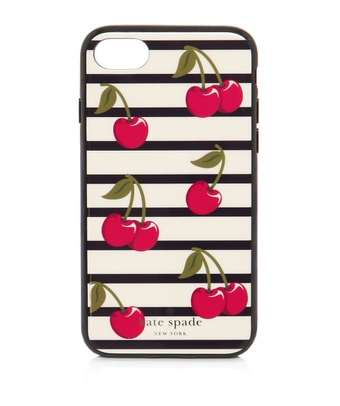 Kate Spade New York Cherry Stripe iPhone 7 Case