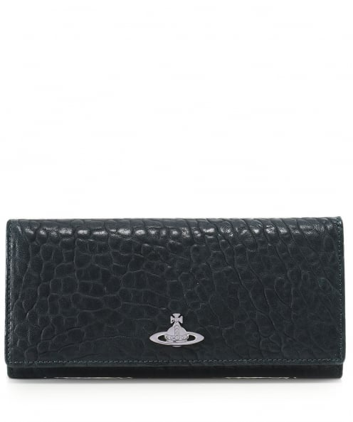 Vivienne Westwood Accessories Textured Leather Oxford Purse
