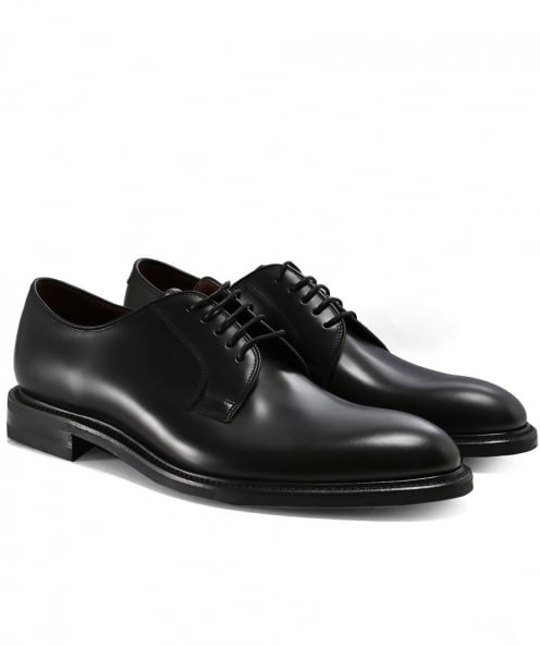 Loake Leather Ghost Derby Shoes