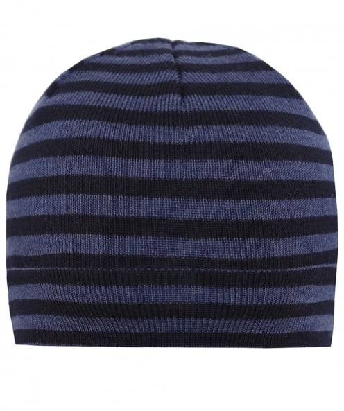 Hemley Wool Striped Beanie Hat