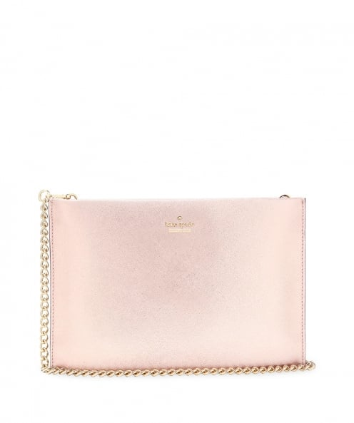 Kate Spade New York Metallic Leather Sima Clutch Bag