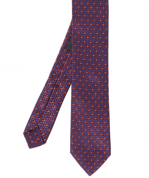 Ascot Accessories Micro Patterned Silk Tie