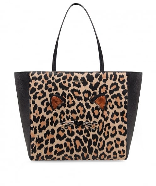 Kate Spade New York Leather Hallie Tote Bag